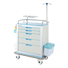 Mobile Hospital Surgery Medical Anesthesia Trolley With Lock