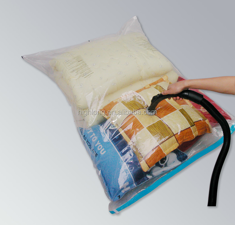 vacuum storage bag for queen mattress PA+PE material