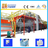 Airlaid paper production line for wet tissue, Airlaid paper production equipment for wet tissue