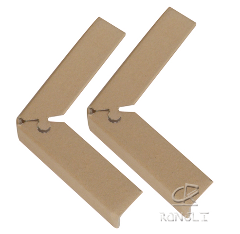 custom logo paper cardboard edging for packaing