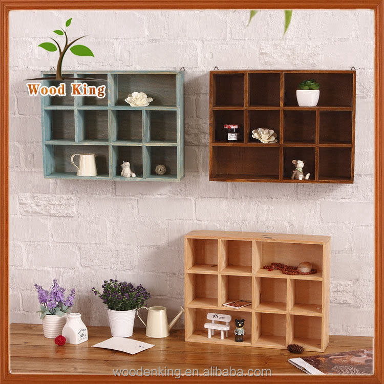 The Kitchen Wall-Mounted Storage Box Custom Logo Wooden Drawing Room Showing Stand