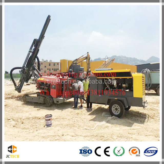 Atlas Copco hydraulic crawler down the hole drilling rig for mining and quarry drilling