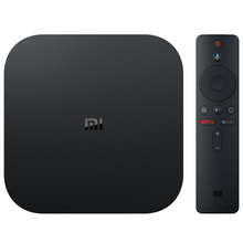 Global Version Original Xiaomi Mi box s 4k hdr Android tv with Google assistant <strong>remote</strong> streaming media player