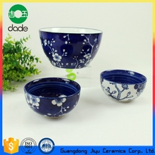 Bowls Dinnerware Type Eco-friendly Round Ceramic Porcelain Rice Bowl