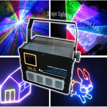 LED 1w RGB animation disco/night club laser light
