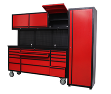 Metal tool chest roller cabinet