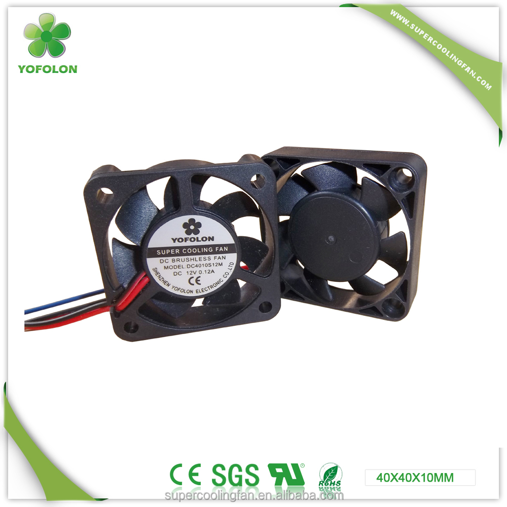 YOFOLON 4010 low noise adda 12V 24V RC toyon DC Fan
