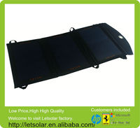 New product high efficiency 18W USB DC output portable 12v 10w solar panel price
