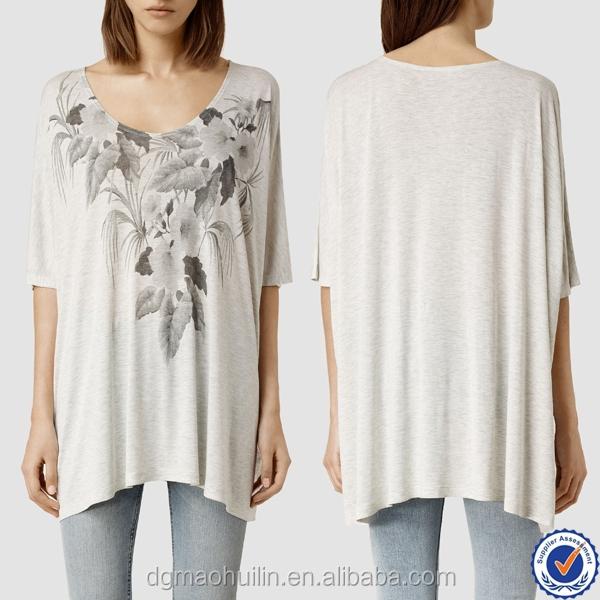 Guangzhou clothing factories custom print women t shirts Custom printed women s t shirts