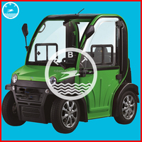sightseeing electric car 4 wheel with air condition