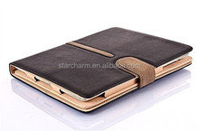 360 degree rotating Magnetic leather case for ipad mini 1/2/3