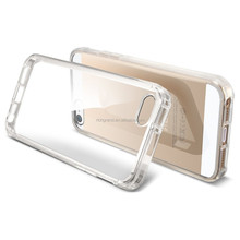 Premium hybrid crystal clear bumper case for iphone 5s se 6 6s 6 plus 7 7 plus