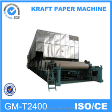 2016 the best selling products made in China, 2400mm famous brand high speed corrugated paper machine