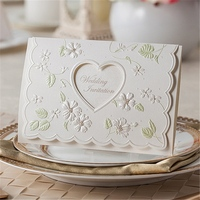nice paper wedding invitation cards rings picture crafts 5 inch digital greeting card