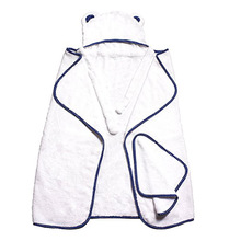 500 Gsm 100% Organic Animal New Soft And Bath Set Fiber Bear Ear Wash Cloth Bamboo Hooded Baby Towel