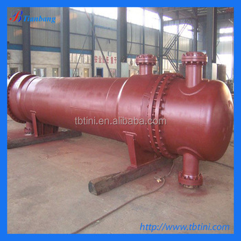 titanium tube heat exchanger for chemical made in china