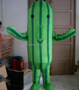 Hola lovely cactus costume/cactus mascot costume for school show