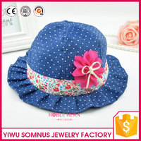 fashion black round top shaped wholesale felt hats for ladies