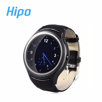 Hipo X1 SmartWatch Android 4.4 Heart Rate Monitor Pedometer GPS WiFi Bluetooth 4.0 Phone Smart Watch