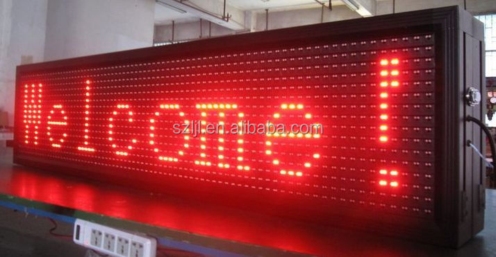 Outdoor Advertising P10 1RGB 32*16 LED Display Screen