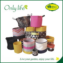 Onlylife Waterproof and recyclable oxford fabric planter / garden flower pots
