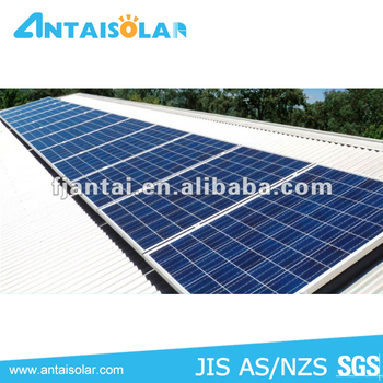 Uiversally applicable home solar 3KW Pitched roof mounting system