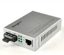 Hot sale 10/100M media converter ip to analog converter