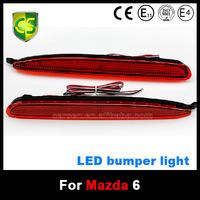 CARSEN 12V waterproof Auto Car LED Rear Bumper Light Reflector Brake rear Fog lamps light Accessories LED Mazda 6 Rear Light