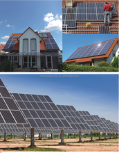 50KW Off Grid Solar Power System With Customized Design