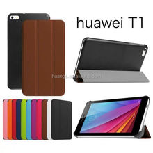 Buy direct from china PU leather tablet flip case for huawei mediapad alibaba china