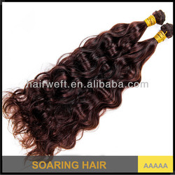 Best selling top quality natural wave virgin malaysian hair color 6 natural brown 100% unprocessed human hair weave wholesale