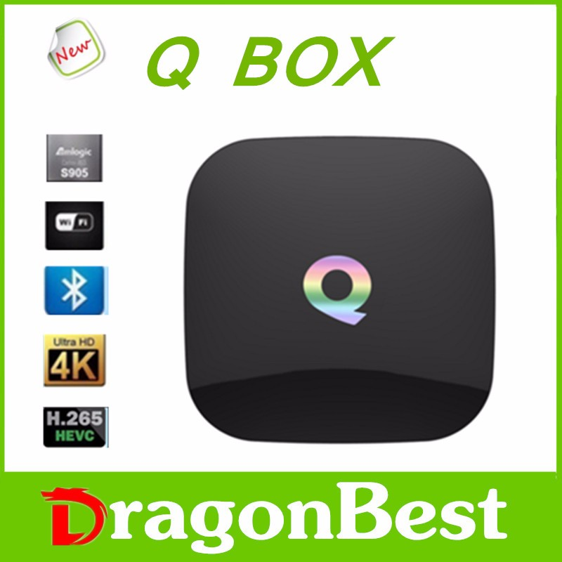 Best top sell spectacular Q BOX (S905 ) digital tv cable set top boxes with good price