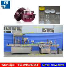 YB-JG4 Automatic Bottle Cream Gel Shampoo Filling and Capping Machine