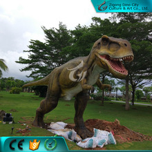 Realistic life size rubber animal for theme park decoration