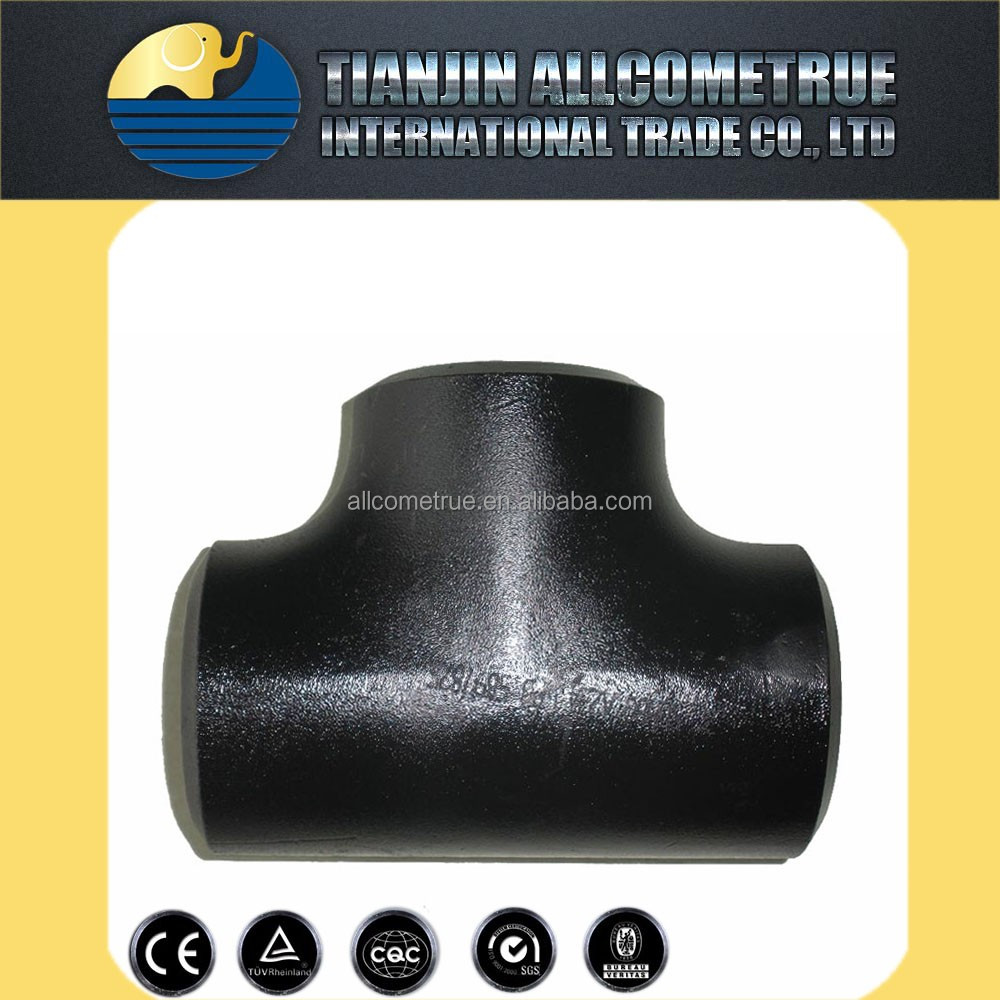 carbon steel zinc plated tee and other type hydraulic fittings