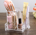 Acrylic Makeup Brush Holder, Clear Makeup Organizer