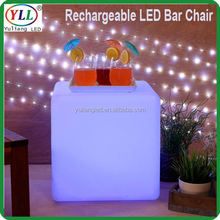large led ice bucket led cube mood light rgb led cube table and seat rgb led cube table and seat