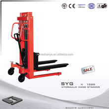 Hand Stacker & high lift pallet jack 1000KG