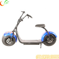 Sunport handicapped motorcycle 2016 New model 18inch 1000W har ley Electric scooter big wheel Halei/ Har ley Scooter