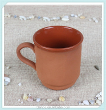 custom red clay mug for coffee and tea