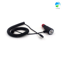 Din 9v micro usb and mini usb 5v 2a car charger with gauge wire for electric car