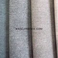 Hot sale Spain Market Colourful linen fabric with non-woven backing for upholstery