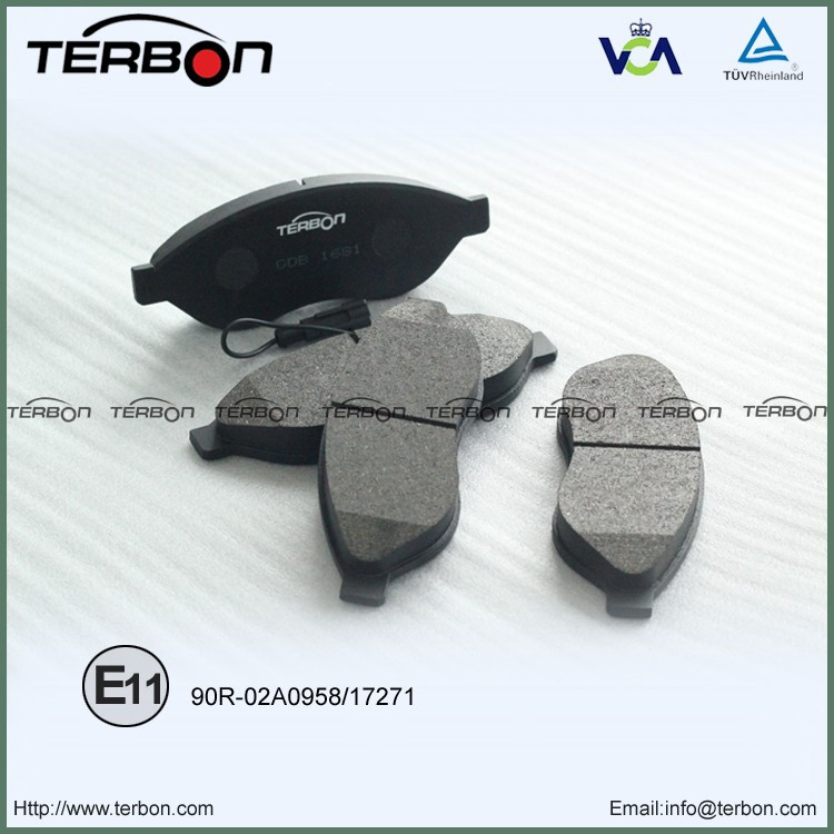 D1489-8689 Brake Pads For Peugeot Boxer bus/box/fiatbed