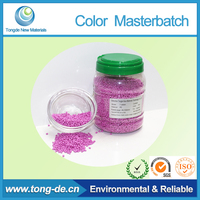 Tongde High Quality Pink color Masterbatch for plastic stick bag bottle chair cup and film