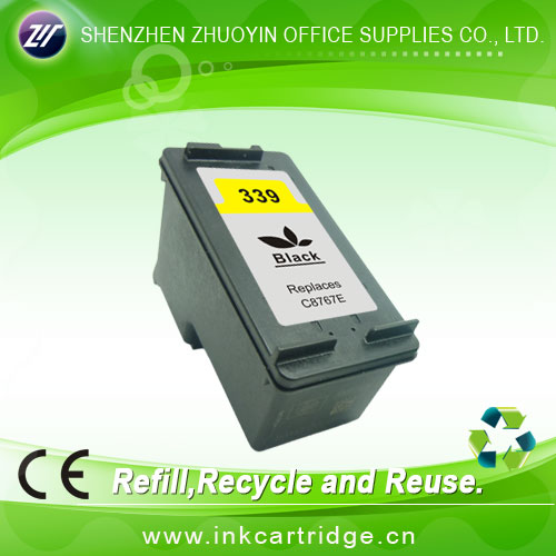 remanufactured inkjet cartridge with lowest price for hp339/344(C8767EE;9363EE)
