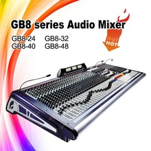 GB8-48 Style Professional Audio 48 Channel digital sound mixer
