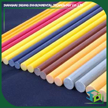 Factory direct supply glass fiber FRP rod with high density of frp material