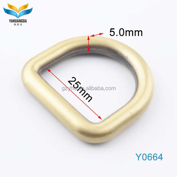 Fashion decorative d ring for bags
