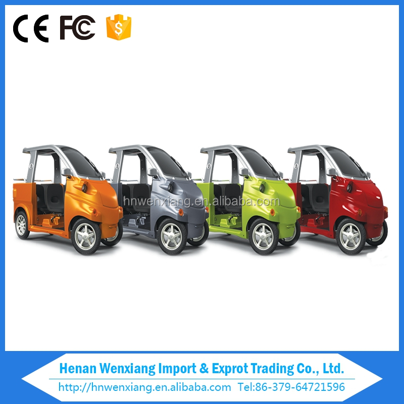 Hot Sale 4 Wheel 3 Person Chinese Mini Electric Patrol Car with CE