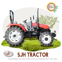 SJH 80HP 4WD wheel farm tractor with best service on sale